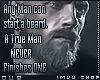 -True Man- BADGE