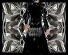 layerable goth coat M
