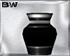 Black Platinum Vase