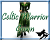Celtic Warrior Gown