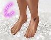 Love Ink Feet w/ Rings 2
