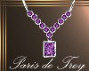 PdT Amethyst Dia Necklac