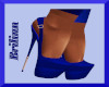 [B] Royal Blue Pumps