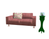 Zero Gravity Pink Couch
