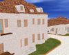 White Stucco Mansion