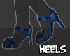 S| Paw Heels Navy