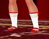 Girls Candy Cane Shoes