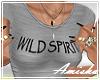 AMI|Wild Spirit Top