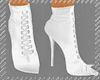 *AK ankle boots white