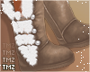 Kai Fur Boots -Tan