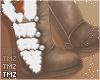 Kai Fur Boots -Tan