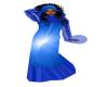 Blue Star Hooded Robe