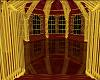 Lush Gold/Red Ballroom