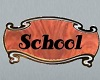 ~AW~ Rustic School Sign