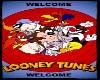 looney tunes welcome mat