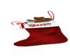 Silk Christmas Stocking