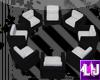 [LJ] Circle Chairs - B&W