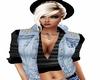 Blue Jean Hoody