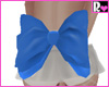 School Bow Blue