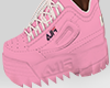 FILA Disrupto rosa f