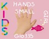 [Gio]KIDS HANDS SMALL F