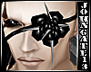 Spiked Blk Rose Eyepatch