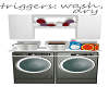 any, washer & dryer