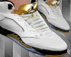 ` Gold & White`
