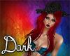 Dark Red Hair&Hat