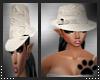 white lv hat