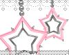 spiky star earrings