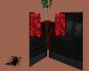 Red-Black-Couch