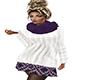 ~N~ Sweater Dress Purple