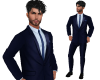 TF* Navy Blue Full Suit