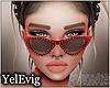 [Y] Emma red sunglasss