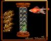 Aquarium column
