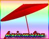 Red Beach Umbrella