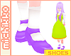 *M Ayame Shoes Lilac