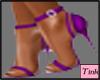 pez purple heels