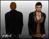 D- Leather Orange Jacket