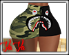 Bape Mini Skirt Camo RLL