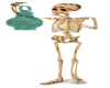 Skeleton with Lamp