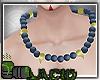 Kitsune Beads Blue