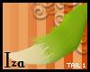[iza] Green Fox tail 1