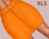 S. Orange Skirt RLS