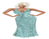 Teal Night Out Gown