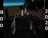 sea side dinner table