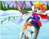 Bugz Bunny& Lola towel