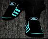 [BJM]  Aqua  Black