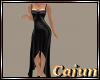 Crystal Ebony Gown
